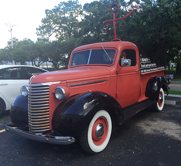 Image of a classic truck